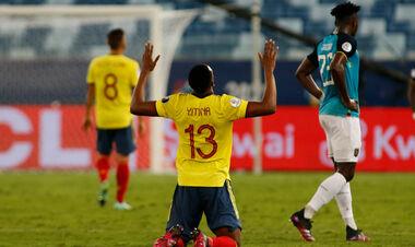 Колумбия – Эквадор – 1:0. Видео гола и обзор матча