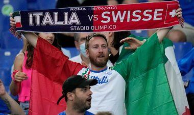 Италия – Швейцария. Текстовая трансляция матча