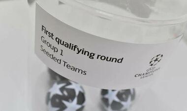 Жеребкування 1-го раунду кваліфікації Ліги чемпіонів. Дивитися онлайн. LIVE