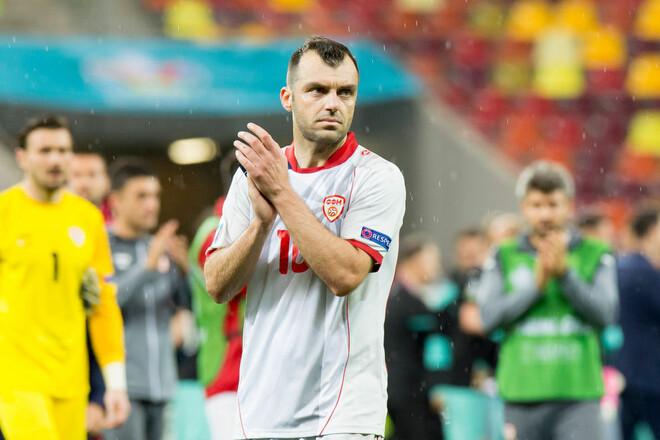 Горан Пандев забил исторический мяч Северной Македонии