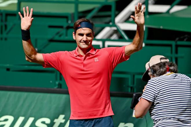 Федерер начал травяной сезон с победы