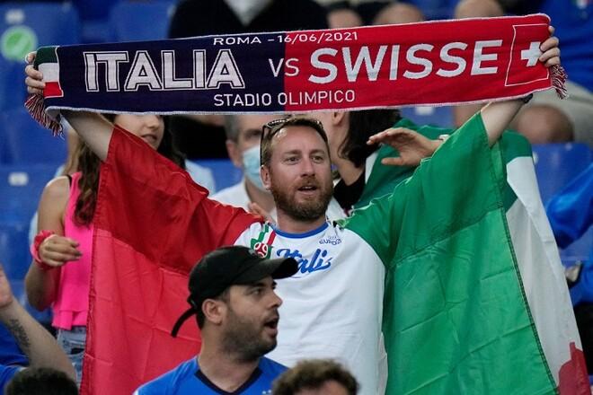Италия – Швейцария – 3:0. Текстовая трансляция матча