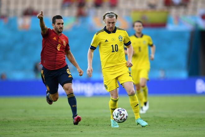Испания – Швеция – 0:0. Уйма голевых моментов в Севилье. Видеообзор матча
