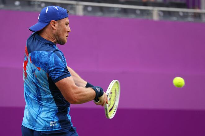 Марченко завершив боротьбу на престижному турнірі ATP у Лондоні
