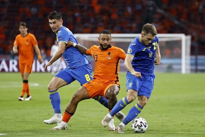 Матч Нідерланди – Україна увійшов в історію, перемоги Словаччини та Чехії