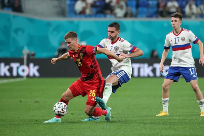 ФРАНКОВ: «За збірну Росії було соромно, так бездарно злити бельгійцям»