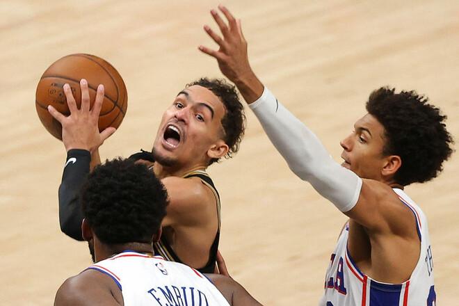 НБА. Атланта і Кліпперс зрівнюють рахунок в серіях з Філадельфією і Ютою