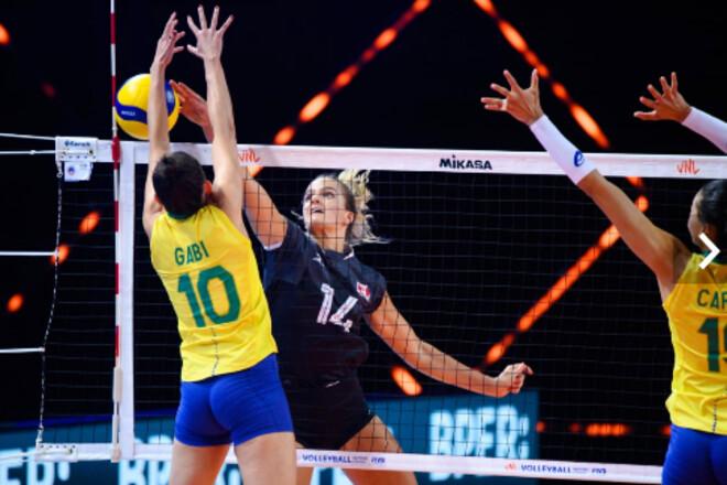 Волейболістки США продовжують переможно виступати в Лізі Націй