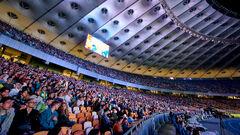 Евро 2020: 10000 украинцев поддержали национальную сборную на Олимпийском