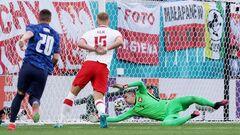 ВИДЕО. Словакия открыла счет в матче с Польшей