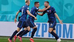 ВИДЕО. Шкриньяр снова вывел Словакию вперед в матче с Польшей
