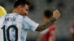 ВИДЕО. Как рукой. Месси забил идеальный гол со штрафного в матче с Чили