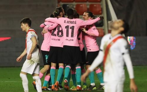 Райо Вальекано – Барселона – 1:2. Видео голов и обзор матча