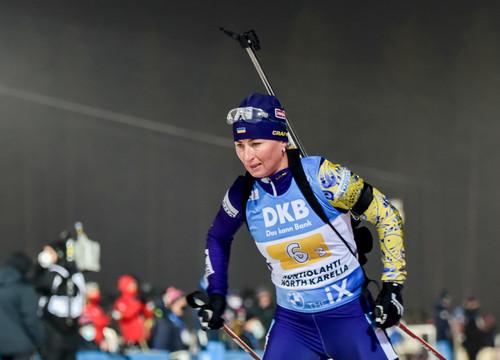 ЧЕ-2021 по биатлону. Вита Семеренко заняла 10 место в спринте