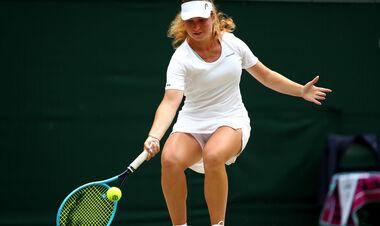 Снигур в напряженном матче обыграла Калинину на турнире в Ноттингеме