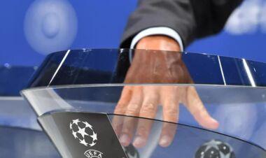 Жеребьевка 2-го раунда квалификации Лиги чемпионов. Смотреть онлайн. LIVE