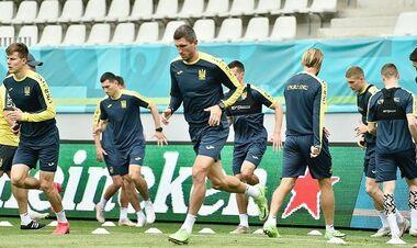ФОТО. Збірна України готується до поєдинку проти Північної Македонії