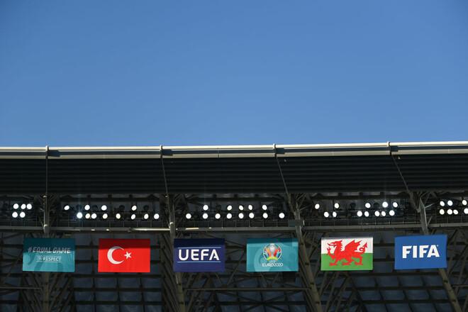 Турция – Уэльс – 0:2. Текстовая трансляция матча