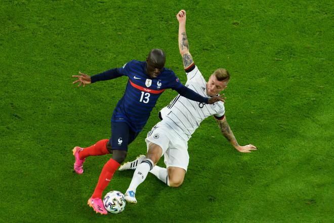 Французы не забивали, но выиграли. Франция победила Германию