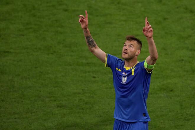 Гол Ярмоленко претендует на звание лучшего по итогам первого тура Евро-2020