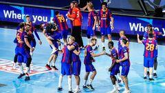 Барселона в десятый раз выиграла Лигу чемпионов