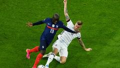 Французи не забивали, але виграли. Франція перемогла Німеччину