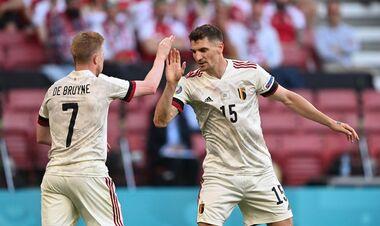 ВИДЕО. Роскошная комбинация. Бельгия сравняла счет в матче с Данией