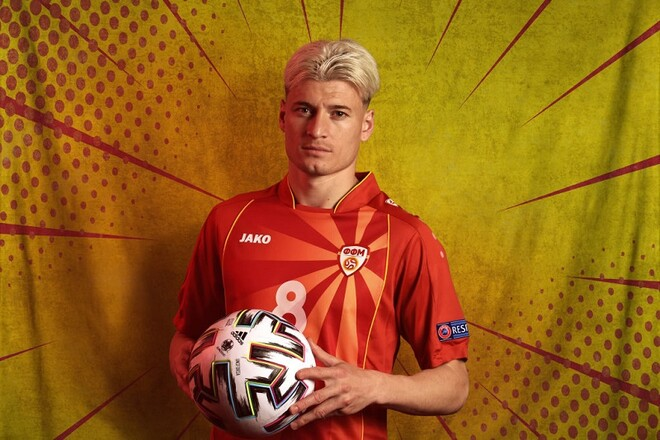 Вингер Северной Македонии: «Для нас и для Украины этот матч как финал»