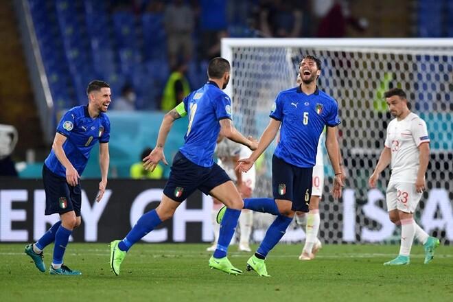 И снова разгром. Италия уверенно разобралась со Швейцарией