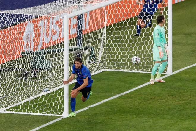 ВИДЕО. В пустые ворота. Локателли вывел Италию вперед в игре с Швейцарией