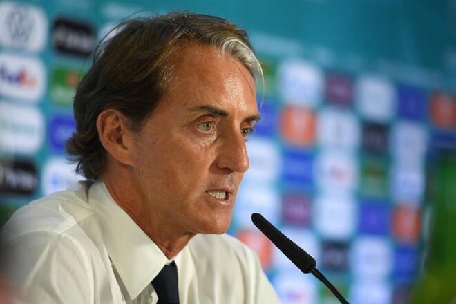 Роберто МАНЧИНИ: «Италия сыграла хорошо. Это была сложная игра»