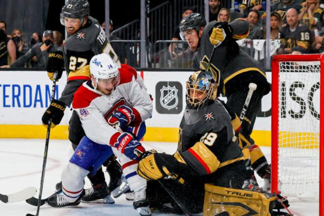 НХЛ. Монреаль обіграв Вегас і зрівняв рахунок в півфіналі Кубка Стенлі