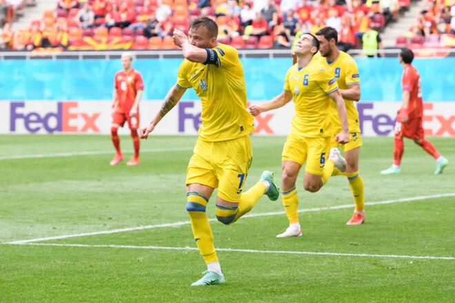Есть победа! Сборная Украины одолела Северную Македонию
