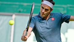 Федерер завершил борьбу на турнире в Галле
