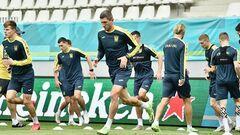 ВІДЕО. Україна готується до поєдинку проти Північної Македонії