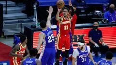 НБА. Филадельфия уступила Атланте, имея вероятность победы 99,7%