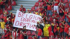 Данія – Бельгія. Матч на підтримку Еріксена. Стартові склади команд