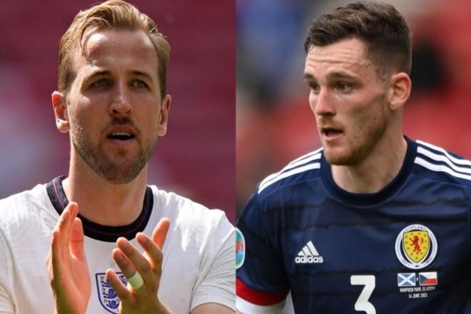 Где смотреть онлайн матч Евро-2020 Англия - Шотландия