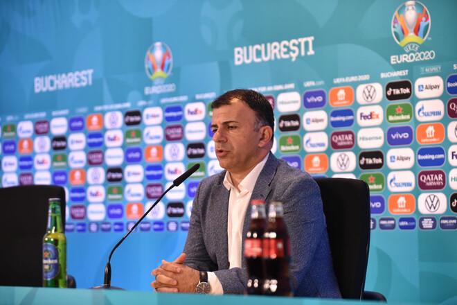 Тренер Северной Македонии: «Мы показали, почему играем на Евро»