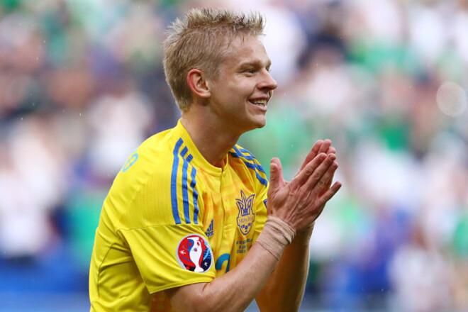 Источник: штаб сборной Украины получал деньги за игровое время Зинченко