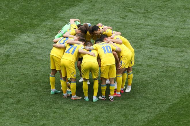 ФОТО. Сборная Украины – вторая в списке самых молодых команд на Евро-2020
