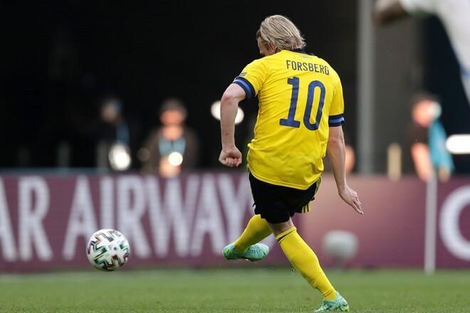 ВИДЕО. Швеция вышла вперед в матче со Словакией