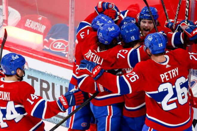 НХЛ. Монреаль зробив камбек і переміг Вегас в овертаймі