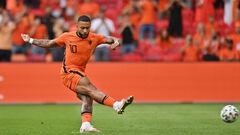 ВИДЕО. Нидерланды забили быстрый гол Австрии. Депай реализовал пенальти