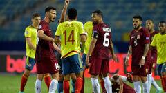 Колумбия и Венесуэла сыграли вничью на Кубке Америки