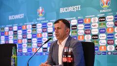 Тренер Північної Македонії: «Ми показали, чому граємо на Євро»