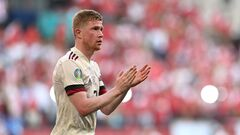 Де Брюйне не святкував гол у ворота Данії з поваги до Еріксена