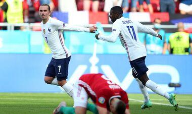 ВИДЕО. Франция сравняла счет в матче с Венгрией