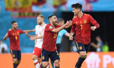 ВИДЕО. Мората оформил первый гол Испании на Евро-2020