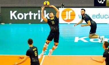 Мужская сборная Украины вышла в финал Золотой Евролиги